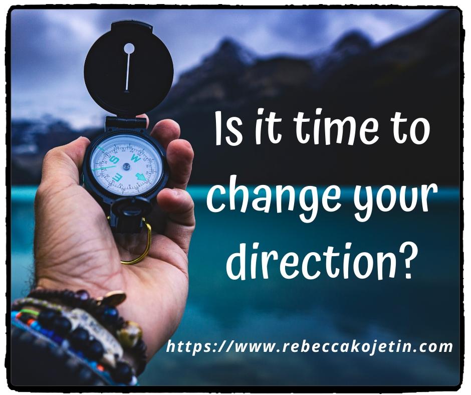 Change direction